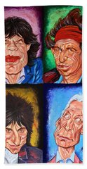 The Rolling Stones Hand Towel