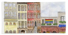 The Stonewall Inn Hand Towel by AFineLyne