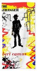 The Stranger Albert Camus Poster Hand Towel