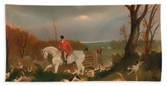 The Suffolk Hunt Bath Towel