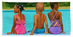 The Swim Lesson Hand Towel