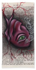The Tell Tale Heart Hand Towel