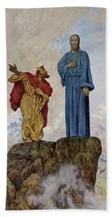 The Temptation Of Christ Hand Towel