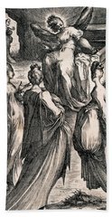 The Three Women At The Tomb Bath Towel