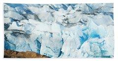The Viedma Glacier Terminating Hand Towel