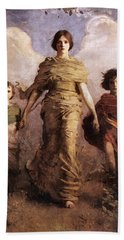The Virgin Hand Towel by Abbott Handerson Thayer