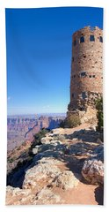 The Watchtower Bath Towel by John M Bailey