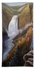 The Water Carrier Yellowstone Hand Towel