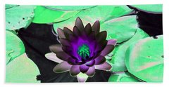 The Water Lilies Collection - Photopower 1113 Hand Towel