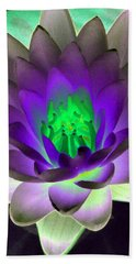 Hand Towel featuring the photograph The Water Lilies Collection - Photopower 1115 by Pamela Critchlow