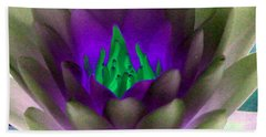 Hand Towel featuring the photograph The Water Lilies Collection - Photopower 1117 by Pamela Critchlow