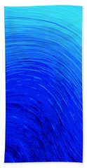 The Wave Hand Towel by Kellice Swaggerty