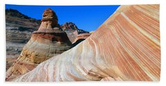 'the Wave' North Coyote Buttes 10 Bath Towel by Jeff Brunton