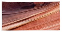 'the Wave' North Coyote Buttes 62 Bath Towel by Jeff Brunton