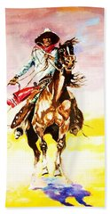 The Way Of The Vaquero Hand Towel