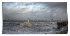 The Wild Mersey 2 Hand Towel by Spikey Mouse Photography
