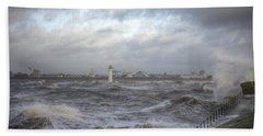 The Wild Mersey Hand Towel by Spikey Mouse Photography