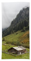 The Wimmertal In Tirol Hand Towel