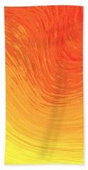 Hand Towel featuring the photograph Heat Wave by Kellice Swaggerty