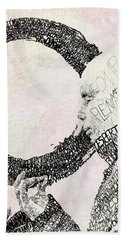 Thich Nhat Hanh Hand Towel