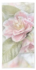 Bath Towel featuring the photograph Think Pink by Peggy Hughes