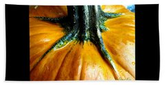 Beautiful Pumpkin. Holiday Collection 2015 Hand Towel