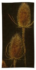 Hand Towel featuring the photograph Thistles by Hanny Heim