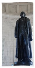 Thomas Jefferson Statue Hand Towel