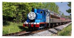 Thomas Visits The Cvnp Hand Towel