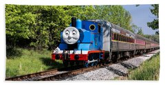Bath Towel featuring the photograph Thomas Visits The Cvnp by Dale Kincaid