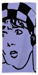 Thoroughly Modern Millie Bath Towel by Alys Caviness-Gober