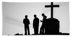 Three At The Cross Bath Towel