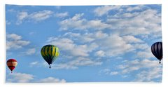 Three Beautiful Balloons In Cortez Hand Towel