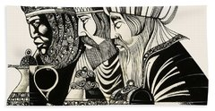 Three Kings Bath Towel