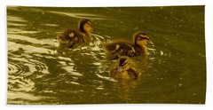 Three Little Duckies Hand Towel
