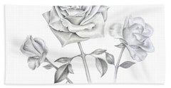 Three Roses Hand Towel