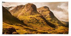 Three Sisters. Glencoe. Scotland Hand Towel