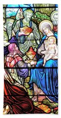 Three Wise Men - Visitation Of The Magi Hand Towel