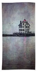 Through The Evening Mist Hand Towel