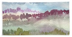 Through The Trees Hand Towel