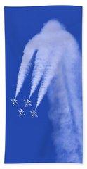 Thunderbirds Diamond Formation Downwards Bath Towel
