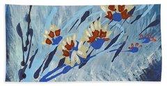 Thunderflowers Hand Towel