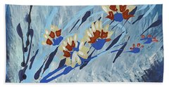 Thunderflowers Bath Towel