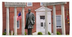 Thurgood Marshall Statue - Equal Justice For All Hand Towel