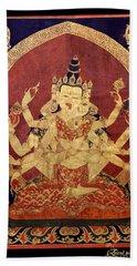 Tibetan Art Bath Towel