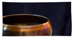Tibetan Singing Bowl Bath Towel