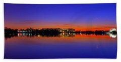 Tidal Basin Sunrise Hand Towel