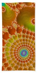 Tie Dye  Hand Towel by Heidi Smith