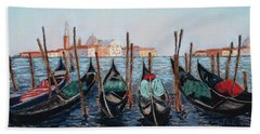 Tied Up In Venice Hand Towel
