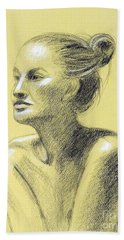 Tiffany Portrait Hand Towel